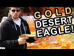 Złoty Desert Eagle 50