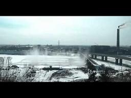 Wysadzanie zatoru lodowego