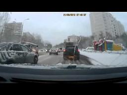 Poranny jogging - takie rzeczy tylko w Rosji