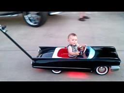 Lanserski Cadillac dla dzieci