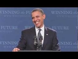 Barack Obama śpiewa Sexy and I Know It
