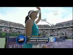 Radwańska pokonuje Sharapovą