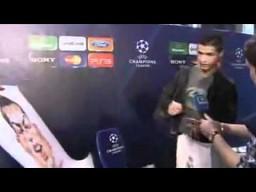 Śmieszna reakcja Cristiano Ronaldo