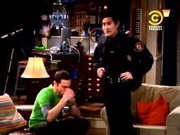 Niecodzienna kradzież w Big Bang Theory
