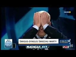 Reakcja prezentera CNN na śmigus-dyngus