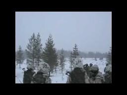 "Rosyjska wyrzutnia rakiet BM-21 ""Grad"""