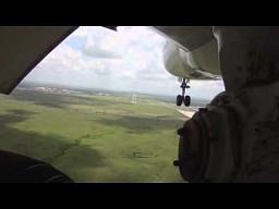 Start i lądowanie Boeinga 747