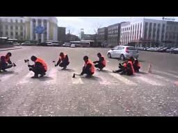 Remont nawierzchni w Rosji