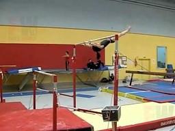 Drążkowa gimnastyczka