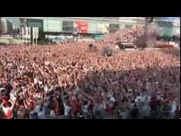 Eksplozja radości po golu Polaków