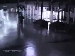 Niezwykłe zjawisko nagrane w Indonezji 11 września 2011