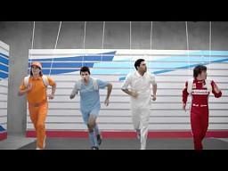 Alonso, Aguero i ten trzeci w reklamie