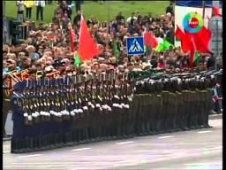 Domino w paradzie na Białorusi