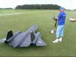 Latający model SR-71 Blackbird