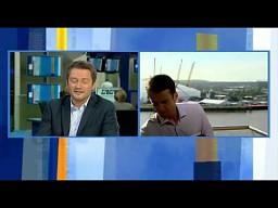 """""""Mamy big problem z Twoim mikrofon""""-  Kuźniar i Łukasik TVN 24"""