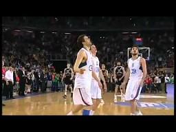 Przedwczesna celebracja podczas meczu koszykówki