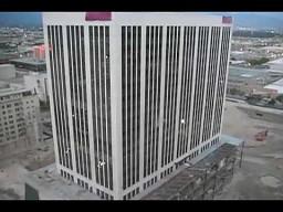 Wyburzanie banku w Salt Lake City