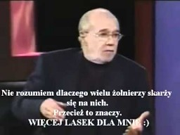 George Carlin o gejach w wojsku