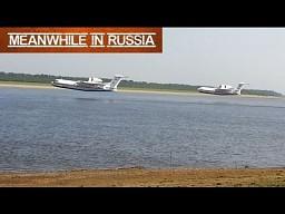 Samoloty do zbierania wody z rzeki