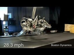 Robo-gepard szybszy od Usaina Bolta