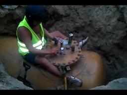 Polski rajdowiec na budowie
