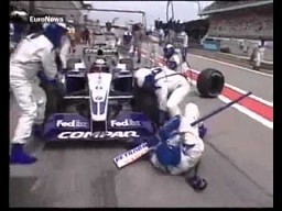Pit-stop horror