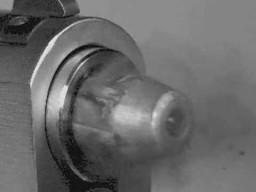 Pocisk z lufy w milionie klatek na sekundę