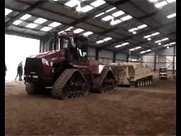 Traktor kontra czołg