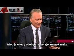 """Bill Maher dowiedział się o polskim magazynie """"Egzorcysta"""""""