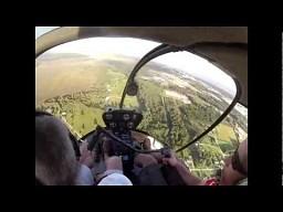 Ekipa śmigłowca ratuje myśliwiec