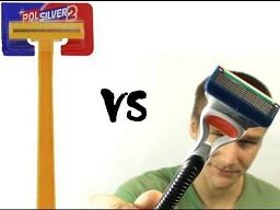AdBuster - konfrontacja Polsilver vs Gillette Fusion