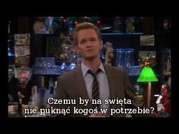 Barney Stinson - życzenia świąteczne