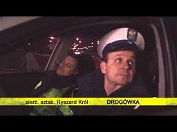 Policjanci z drogówki: Król i Banaś