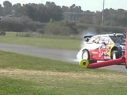 Sebastien Loeb szaleje w Buenos Aires