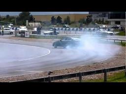 Najdłuższy drift auta - rekord Guinessa