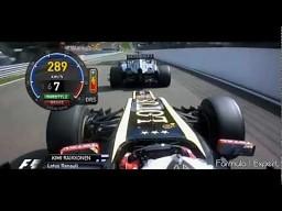 F1 2012 - Kompilacja 15 wyprzedzeń