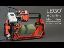 Niezwykła frezarka wykonana... z klocków LEGO