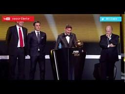 Skandaliczne zachowanie Messiego w czasie gali Złotej Piłki