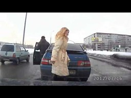 Ciekawa przejażdżka po jednym z rosyjskich miast