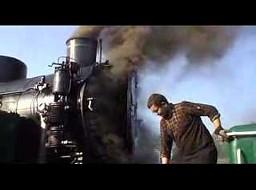 Rozpalenie parowozu TKp 4422