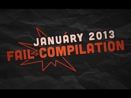 Kompilacja porażek - styczeń 2013 || VPL