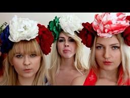 Piersi jak bomby w walce / FEMEN