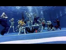 Harlem Shake pod wodą