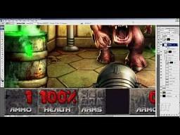 Doom w Photoshopie