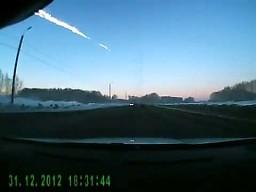Meteoryt nad Rosją