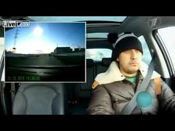 Rosyjska reakcja na widok spadającego meteorytu