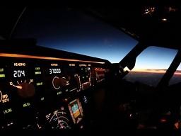 Kilka kadrów z życia pilota liniowego