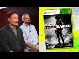 Conan O'Brien gra w nowego Tomb Raidera