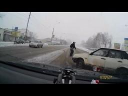 Rosyjscy szczęściarze drogowi || AutoLife # 5