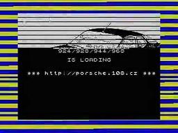 Porsche 924 na ZX Spectrum
